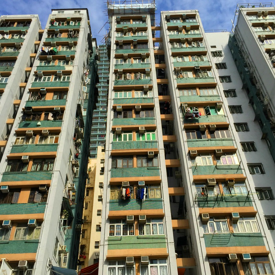 Hong Kong Apartment Building