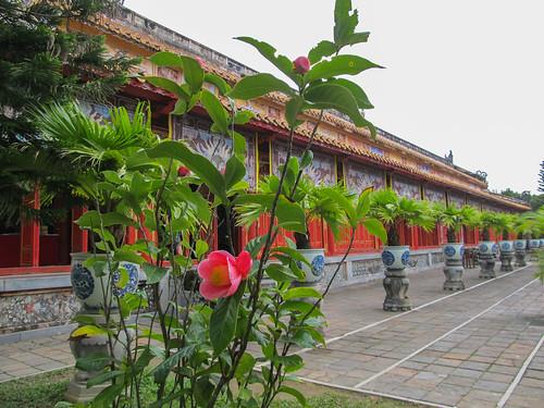 La Citadelle de Hué: le Temple du Culte des Empereurs Nguyen