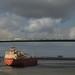 Bridge and Ship Panorama, Oct '15 by OneEighteen