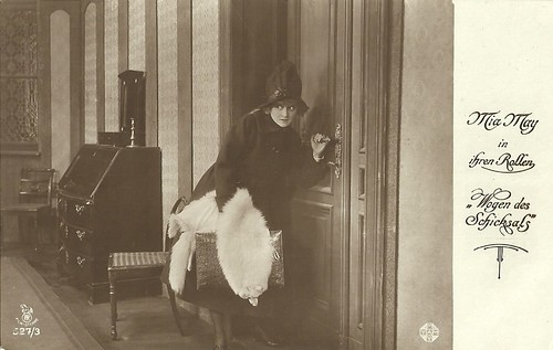 Mia May in Wogen des Schicksals (1918)
