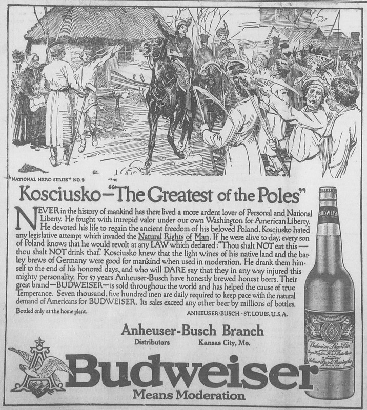 Bud-national-heroes-1914-Kosciusko
