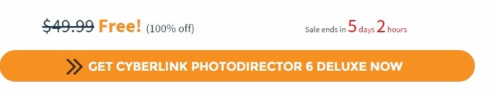 Free CyberLink PhotoDirector 6 Deluxe (100% discount) - SharewareOnSale.gif