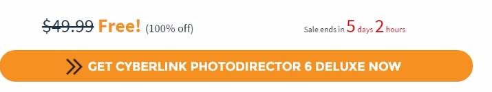 Free CyberLink PhotoDirector 6 Deluxe (100% discount) - SharewareOnSale.gif