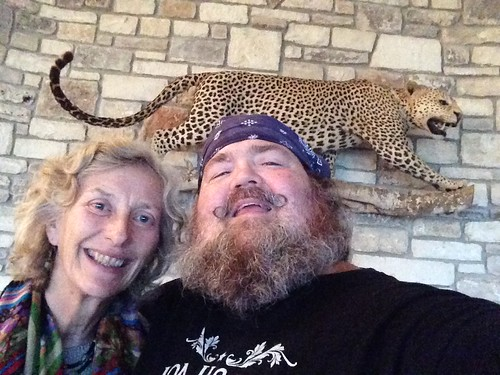 beard leopard selfie handlebarmoustache paulmcrae ingramtexas peggywilson chitalridge