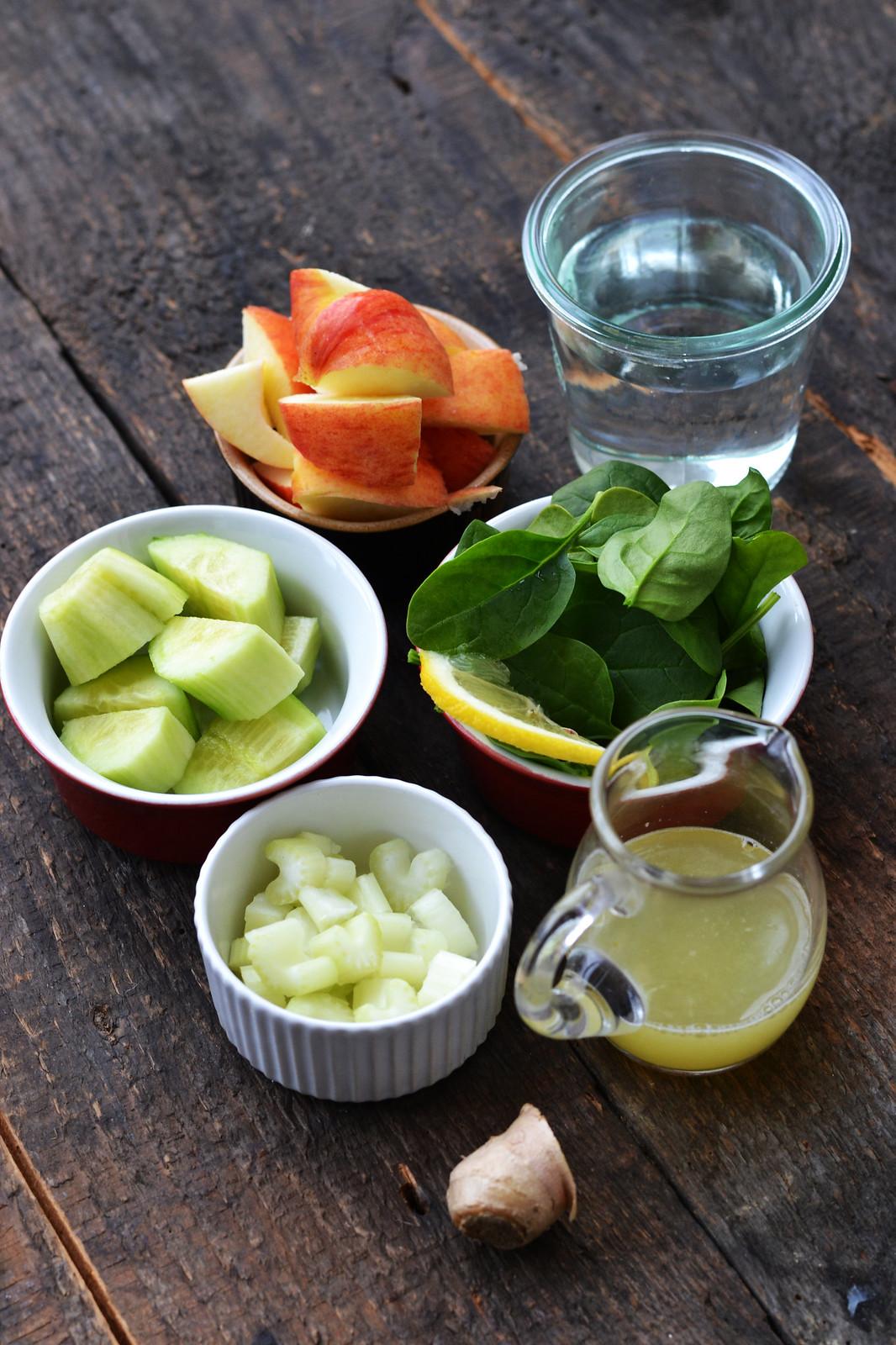 ingrediente smoothie verde