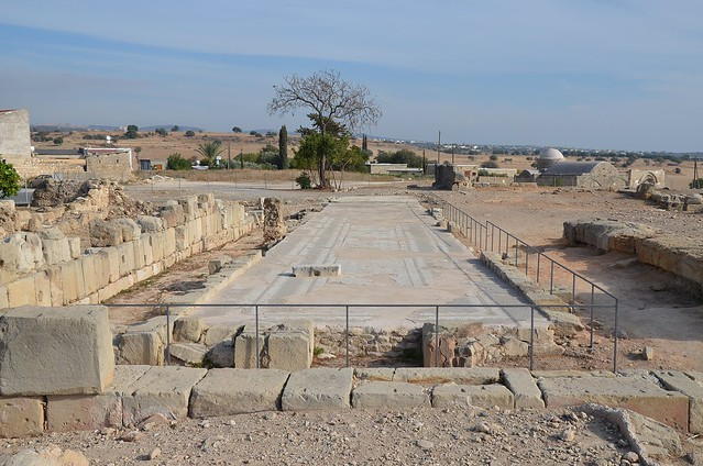 Palaepaphos, the famous Sanctuary of Aphrodite, a large centre of worship established in the 12th century BC, Kouklia, Cyprus