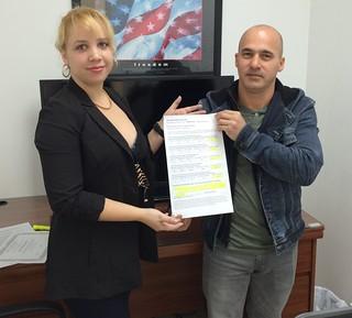 Javier Carrera Califica y Comenta por Escrito sobre el Servicio recibido en Municipal Credit Service Corp en Miami