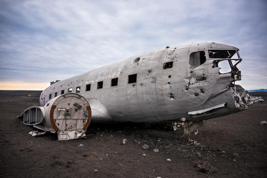 Plane DC 3 Sólheimasandur