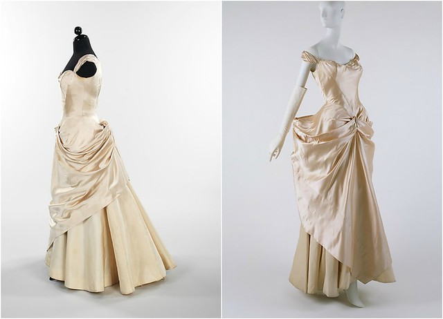 Robes de mariée et de bal,Charles James, 1948-49