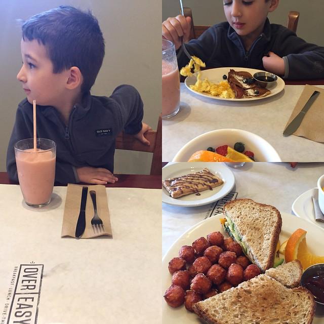 Breakfast date