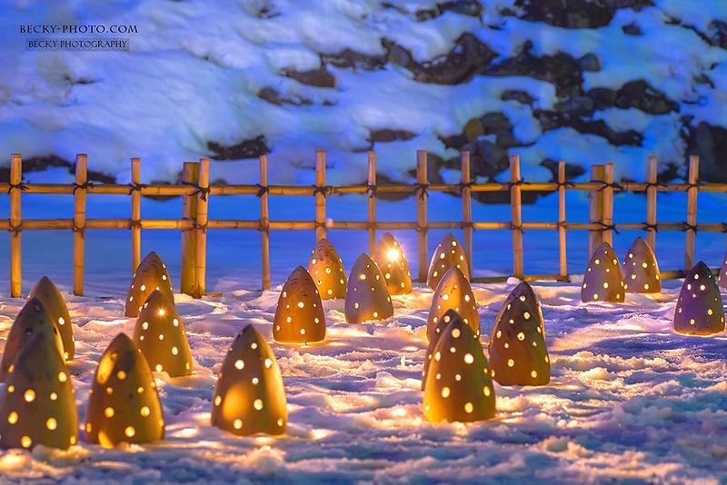 2016.Feb 鶴ヶ城雪燈 @Aizuwakamatsu, Japan 福島