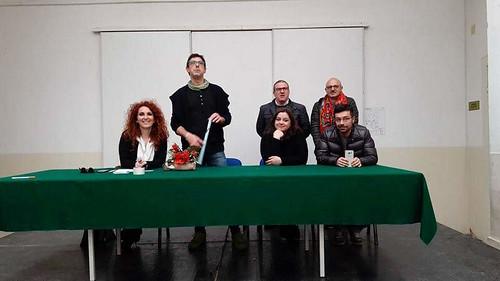 Il presidente Albino Malena e alcuni componenti del Direttivo