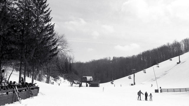 The perfect Day at Caledon Ski Club_