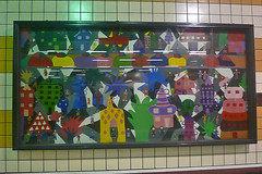 Santiago - Metro art 5