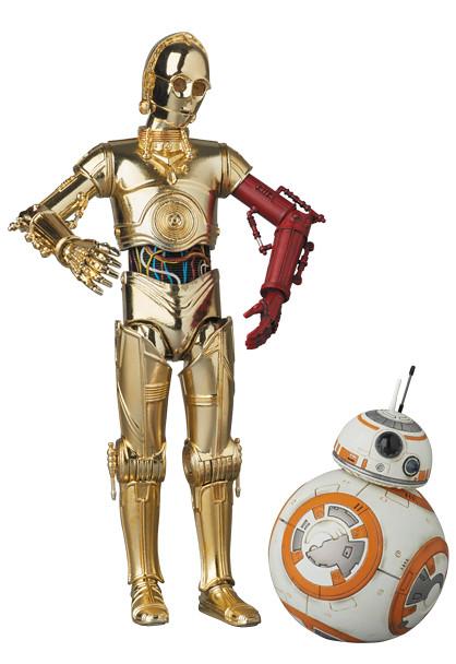 MAFEX 星際大戰系列【C-3PO & BB-8】日本地區限定發行!!