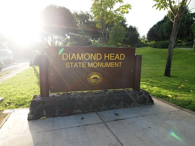 PB300720 ダイヤモンドヘッド(Diamond Head State Monument) hawaii ハワイ ひめごと ヒメゴト