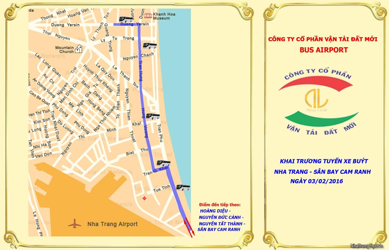 [Xe buýt sân bay Cam Ranh] Thông tin cần thiết cho khách du lịch bay đến sân bay Cam Ranh