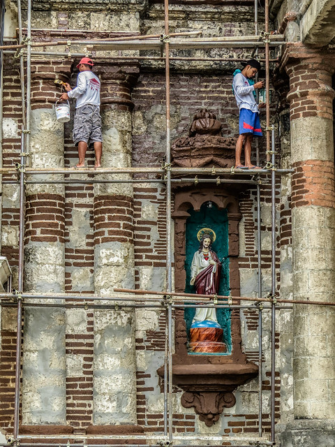 Baliuag Church restoration