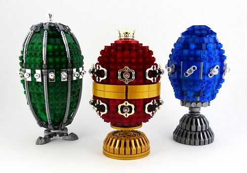 The Jewelled Egg Collection