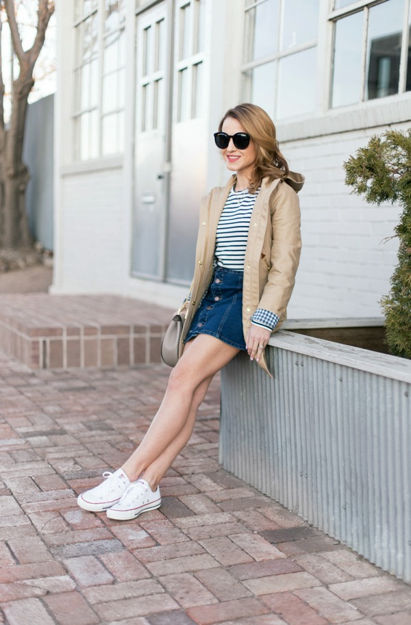 Converse & Trench for Spring