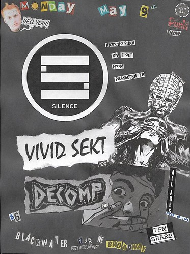 5/9/16 Silence/VividSekt/Decomp