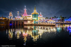 Reflections of Paradise Pier