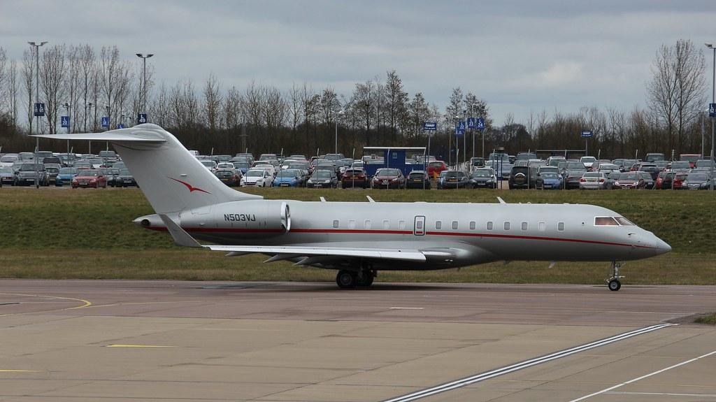 N503VJ - GL5T - Kyrgyz International Airlines