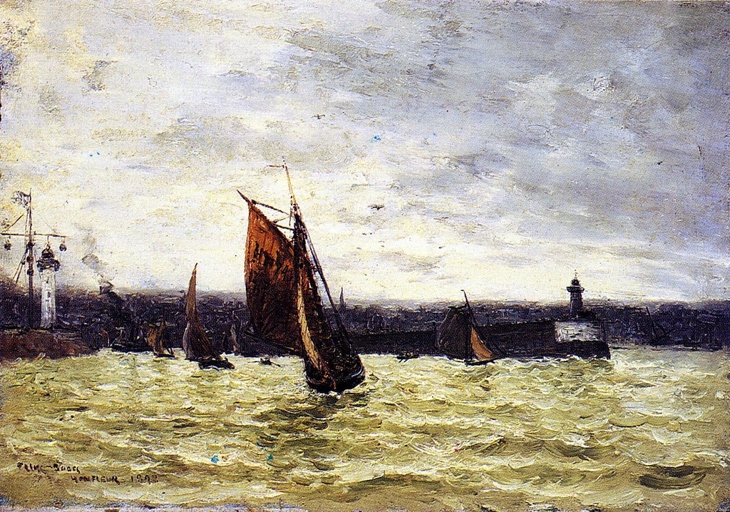 Honfleur by Frank Myers Boggs