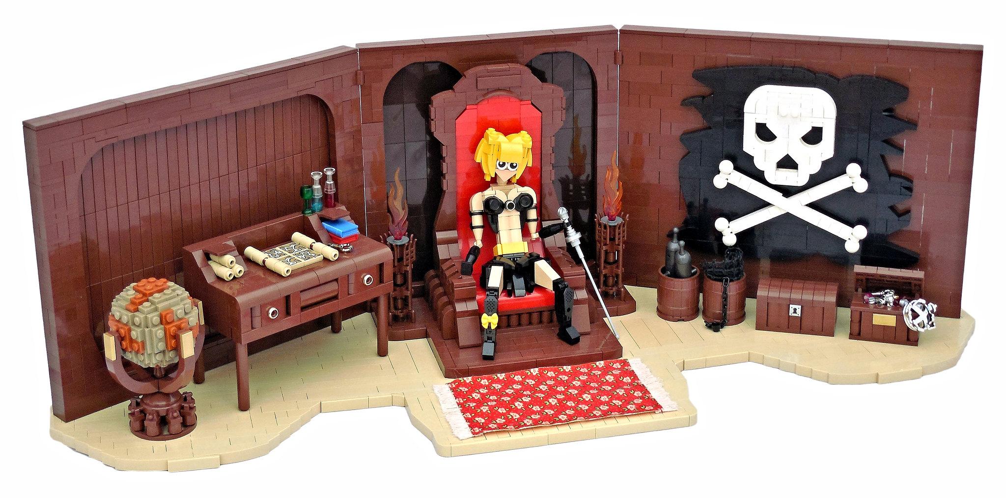 "LEGO® MOC by Vitreolum: Ella ""Tall Tide"" Kneebone's Cabin"