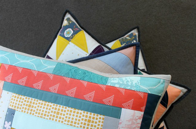 Nightfall Pillows for Quilt Market