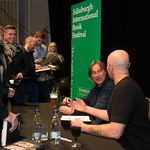 Irvine Welsh & Robert Carlyle book signing | © Alan McCredie
