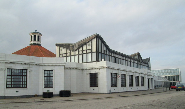 Beach Ballroom, Aberdeen, Looking north from east side