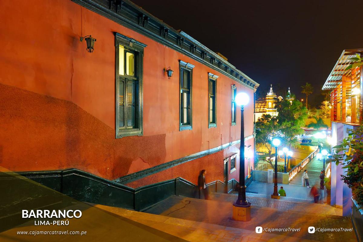 El principal barrio bohemio de Lima.