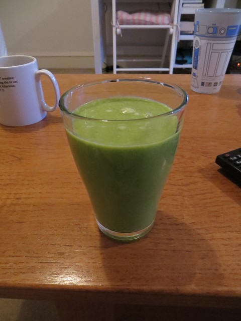 Cleanse Day 3 - Savoury Smoothie, blended