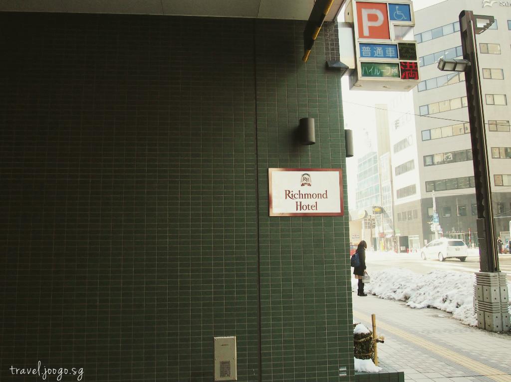Richmond Hotel Sapporo Ekimae - travel.joogo.sg