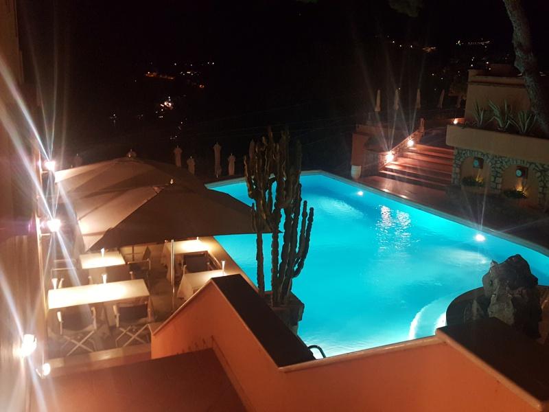 Punta Tragara Capri pool