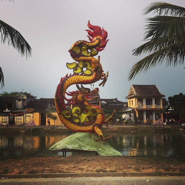 Still trying to decide how much I like Hoi An. We're having a great holiday but I find the constant hard sell and being badgered on the streets hard work and off putting. Vietnam is certainly an experience.
