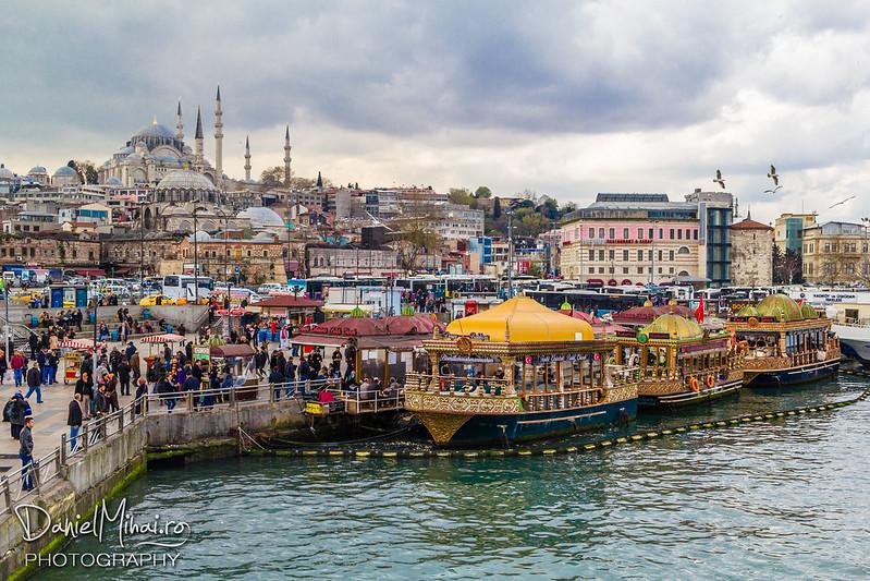 Eminönü pier - Istanbul by Daniel Mihai