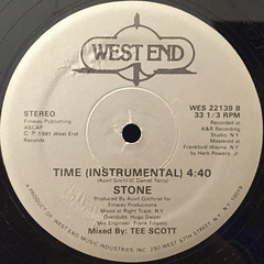 STONE:TIME(LABEL SIDE-B)