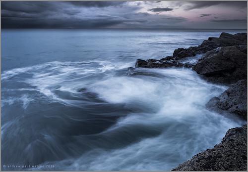 light sunset white seascape storm beach sunrise landscape scotland rocks fuji fujifilm swirl moray firth ecosse 14mm cummingston xt1 nisifilters