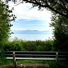Another bench with a completely different (American) view. Beacon Hill Park.
