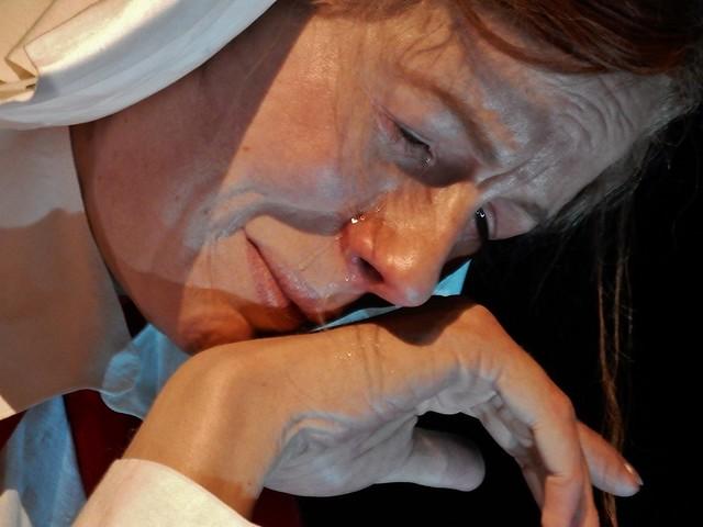 Wax Nurse Crying