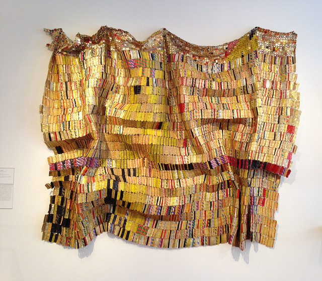El Anatsui, Taago at High Museum Atlanta