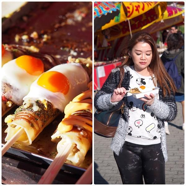 Osaka street snack