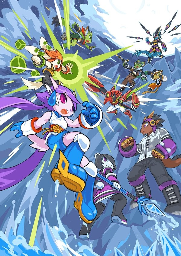 Freedom Planet 2 Announced Features Upgraded Unity