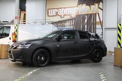 Carwrap Lexus CT200h Giacomo