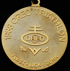 1988 Oreo Triathalon medal
