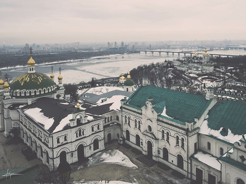 "Kiev from the book ""Il Maestro e Margherita"" by Michail Bulgakov"