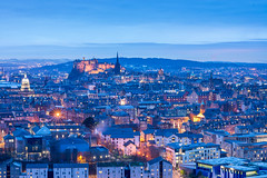 Edinburgh, Blue Hour