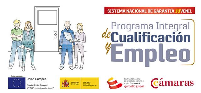 Imagen corporativa del Programa Integral de Cualificación y Empleo (PICE).